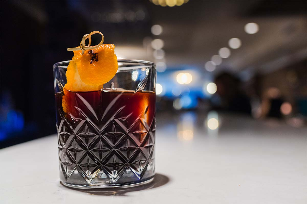 The Black Old Fashioned
