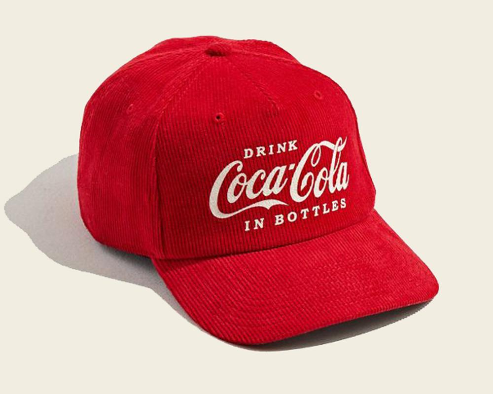 Coca-Cola Corduroy Baseball Hat
