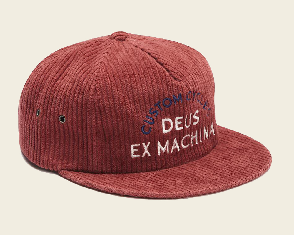 Deus Customs Allen Cord Cap
