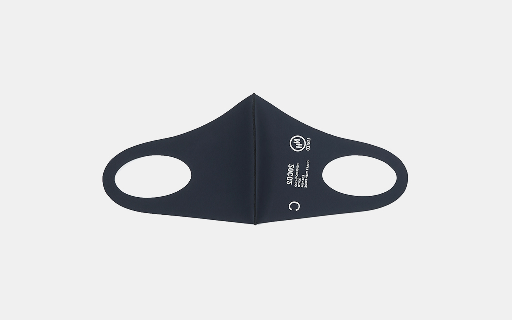 Neighborhood Guardian-2 Logo-Print Nylon-Blend Face Mask