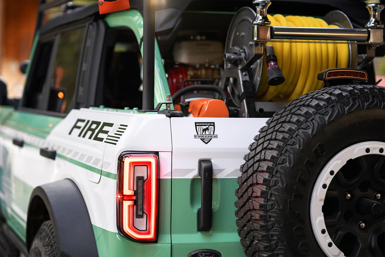 Filson firefighting Bronco