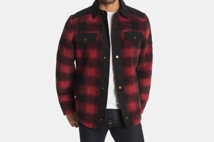 pendelton shirt jacket