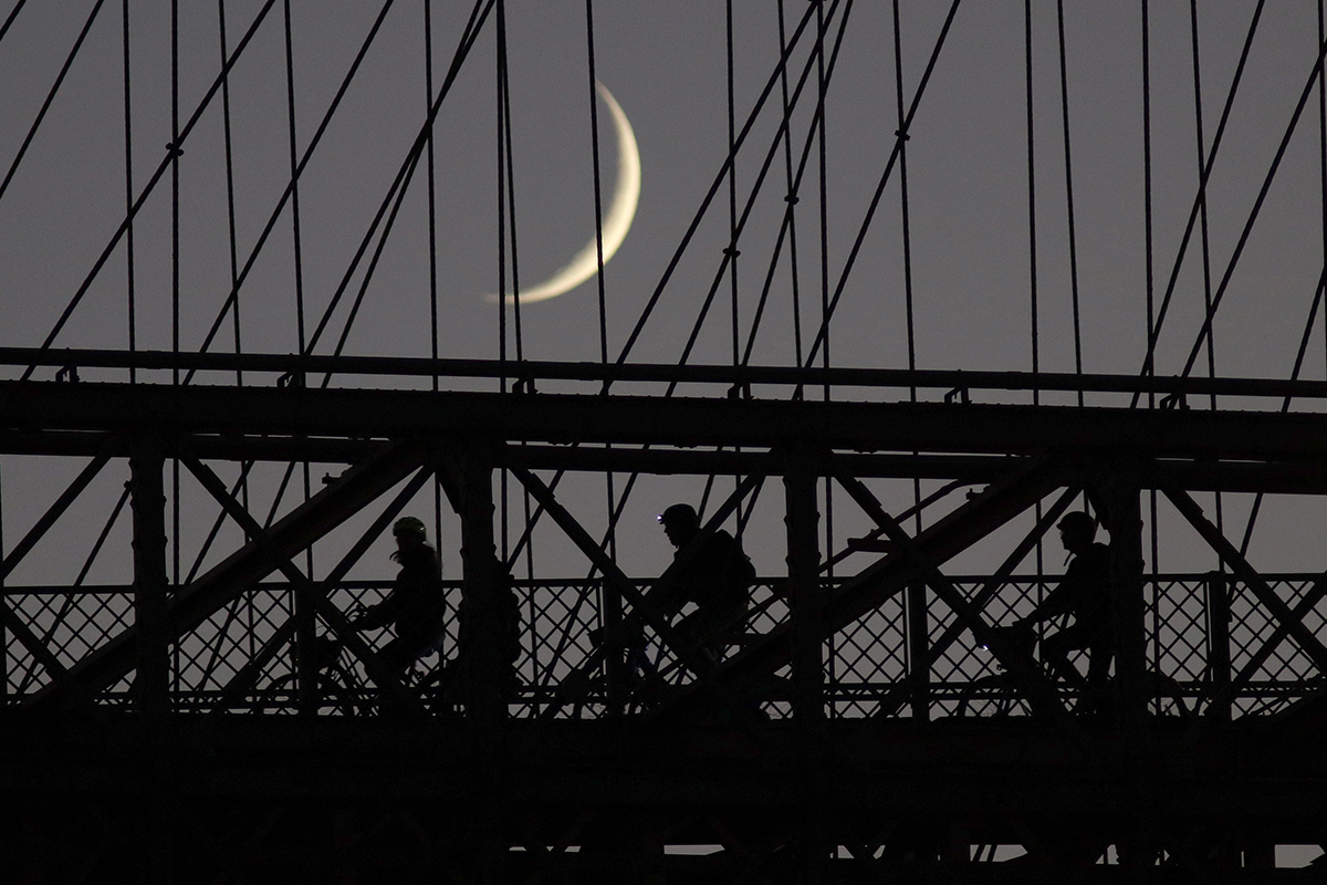 brooklyn bridge biking