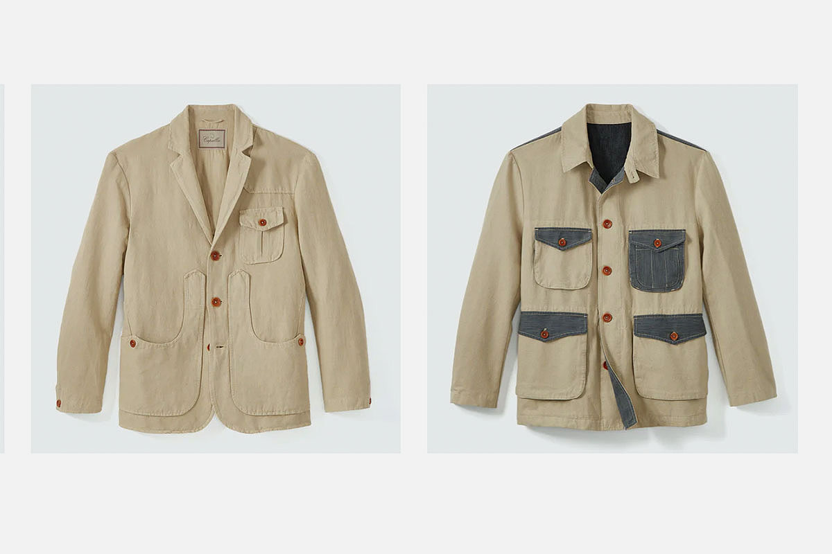 Capalbio jackets on sale at Huckberry