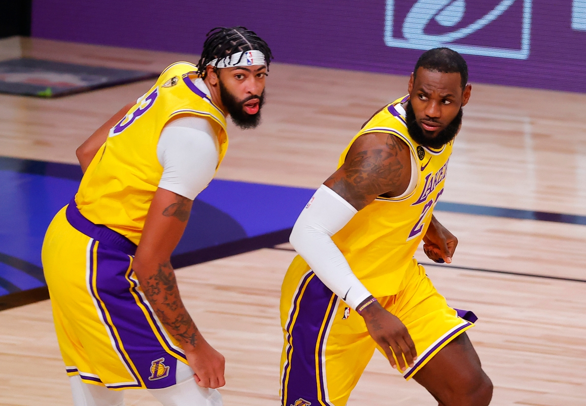 LA Lakers Steamroll Miami Heat in Game 1 of NBA Finals