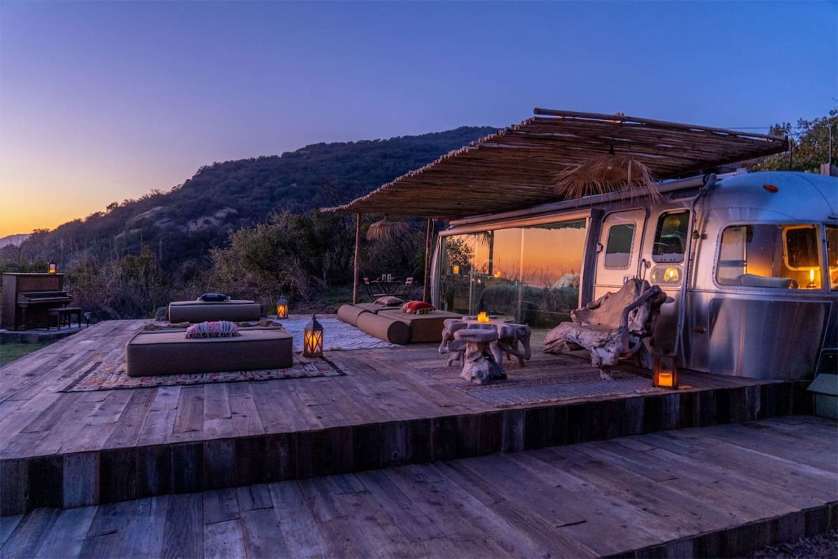 A Malibu Airstream that puts most homes to shame.