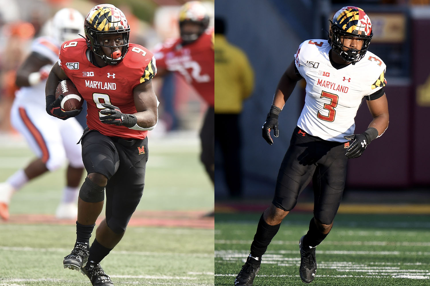 maryland college football uniforms