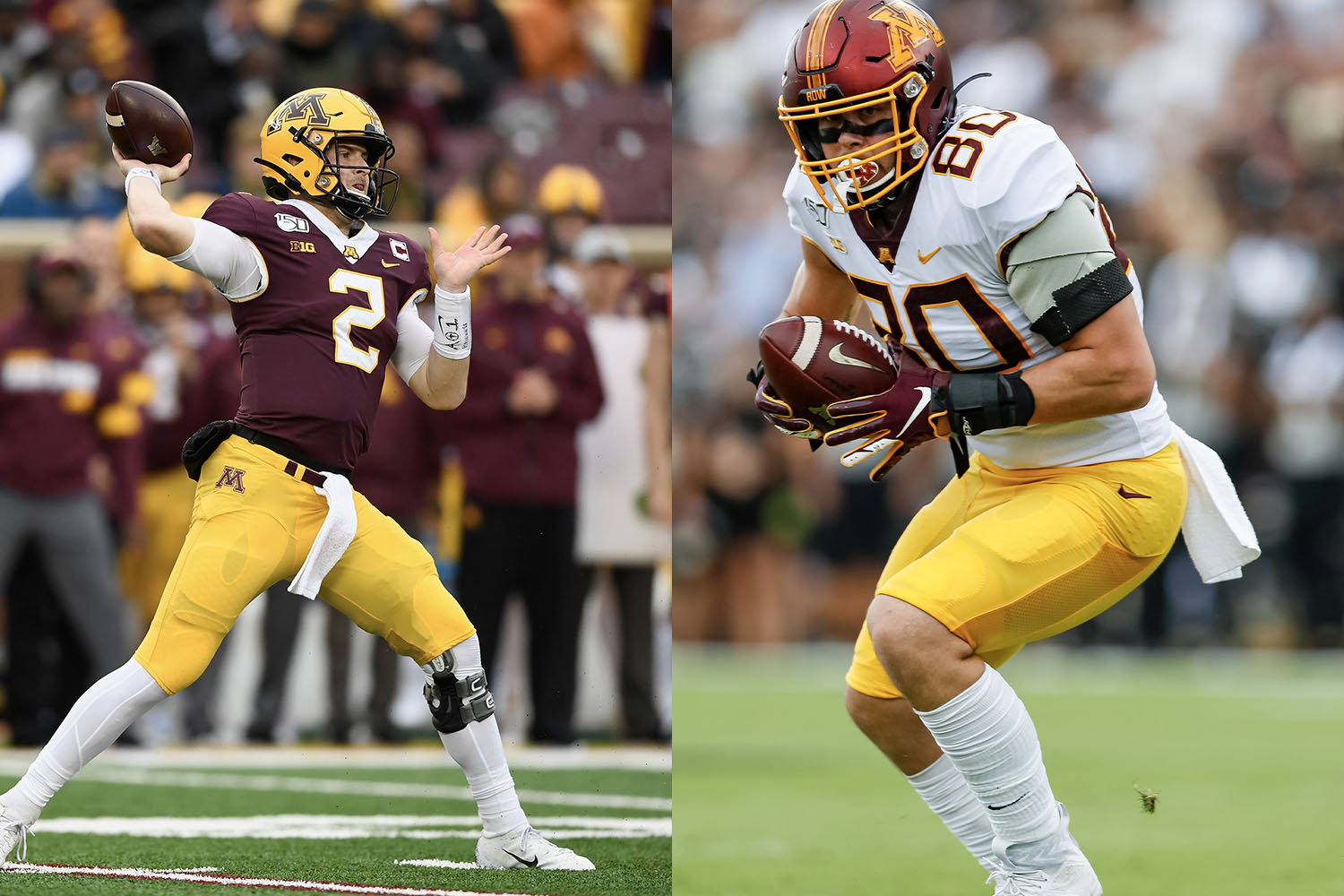 minnesota college football uniforms