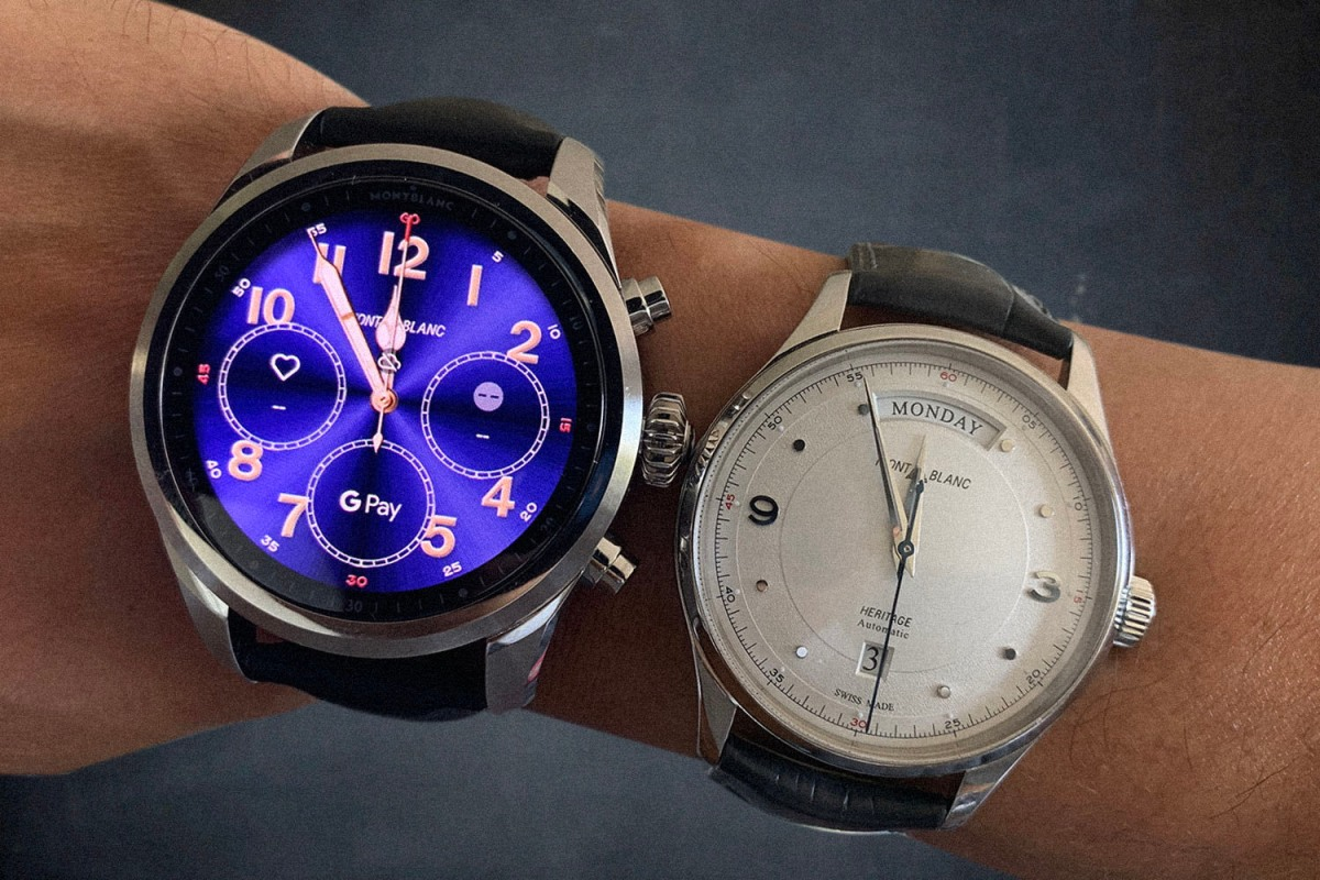 Montblanc smart watch