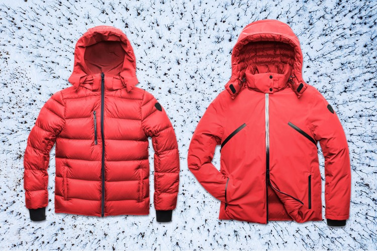 Nobis Oliver Reversible Jacket in the Snow