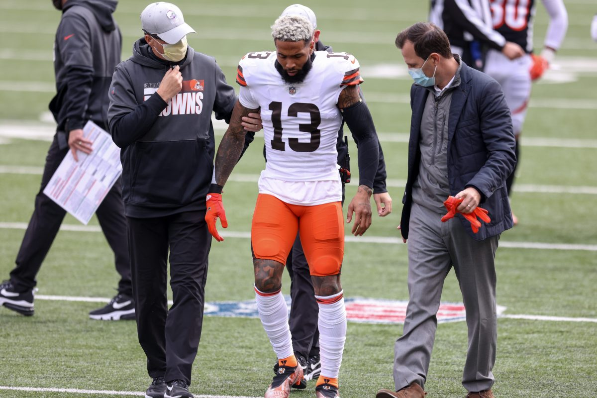 Odell Beckham to Miss Rest of 2020 Season With Torn ACL