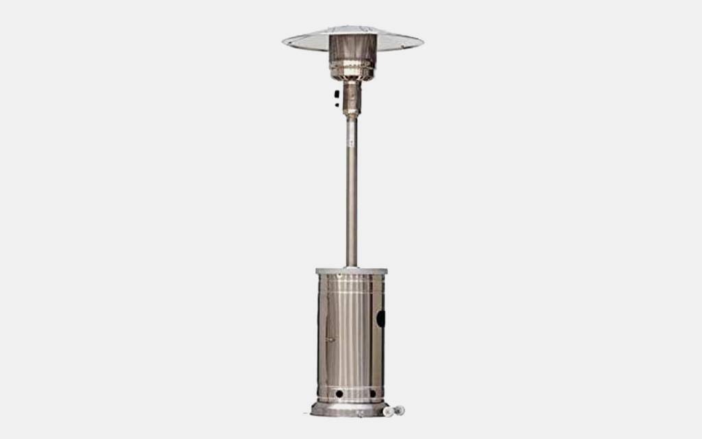 Garden Treasures 48000-BTU Stainless Steel Floorstanding Liquid Propane Patio Heater