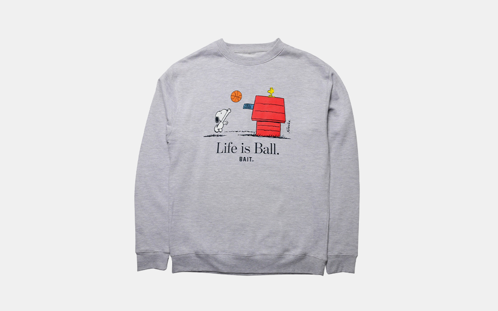 Bait x Peanuts Snoopy Sweatshirt