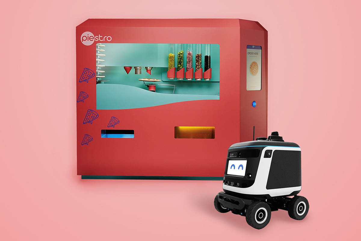 Piestro and Kiwibot announce robot pizza making and delivery partnership