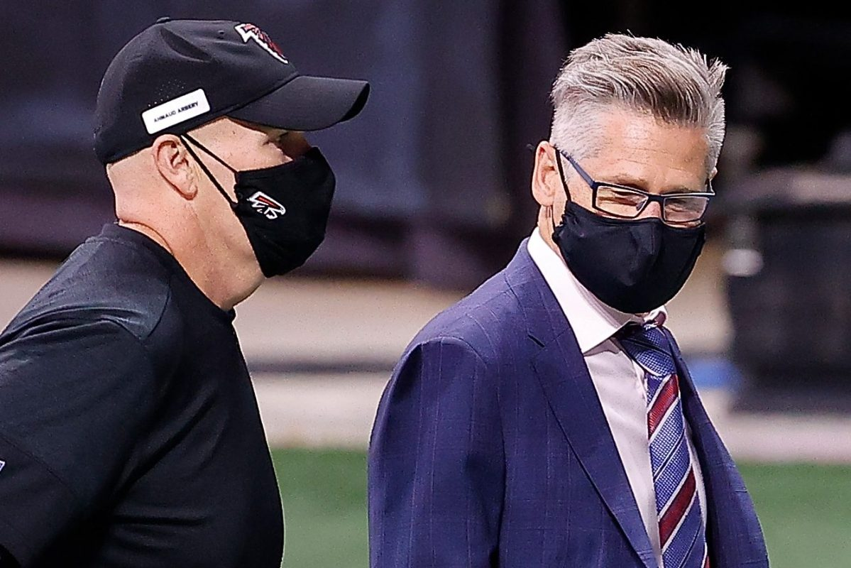 Atlanta Falcons Sack Coach Dan Quinn and GM Thomas Dimitroff After 0-5 Start