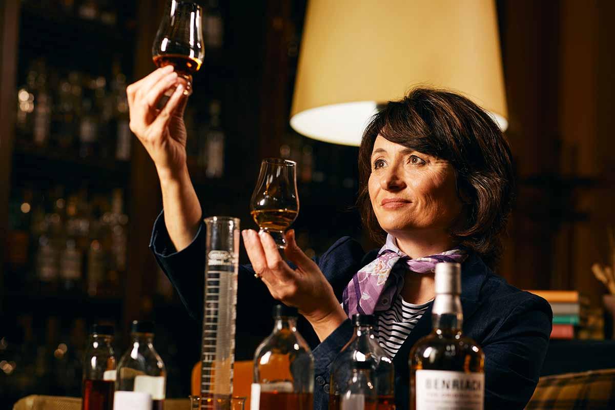 Benriach Master Distiller Rachel Barrie