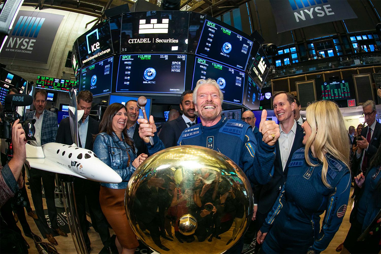 Richard Branson New York Stock Exchange