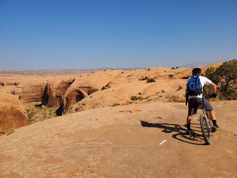 slickrock trail mountain biking moab utah