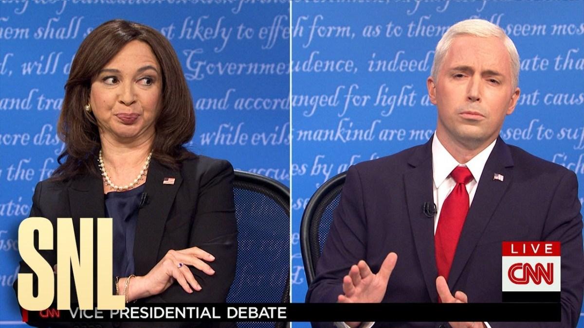 """""""SNL"""" Vice Presidential debate"""