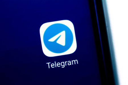 The Telegram app