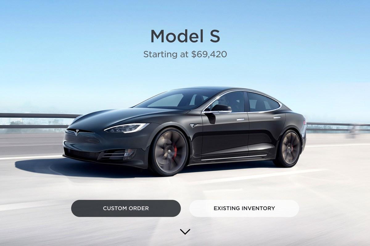 tesla model s $69,420