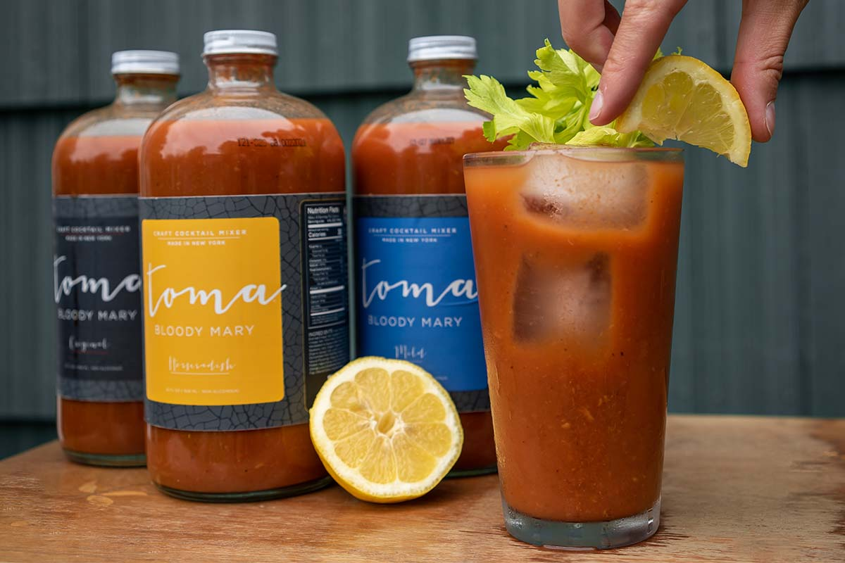 Toma Bloody Mary cocktail mixer