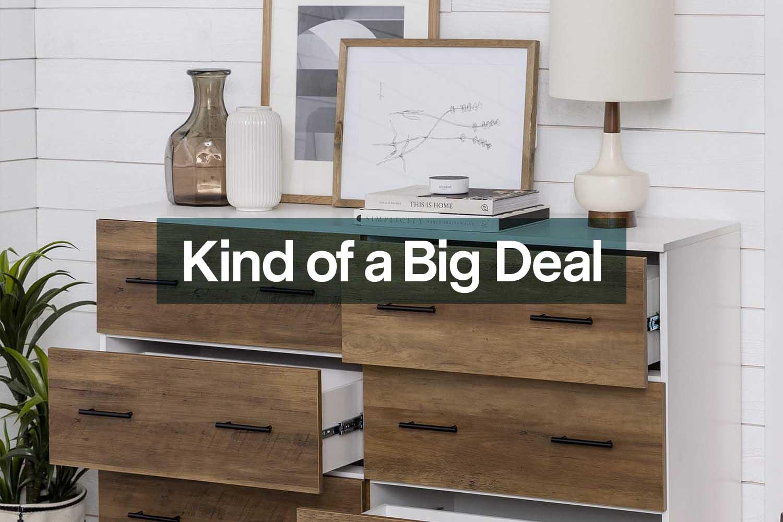 Walker Edison furniture on sale at Amazon