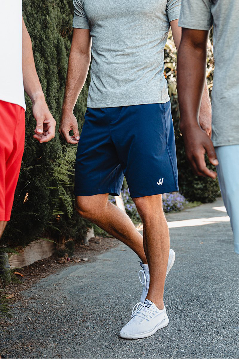 willy california workout shorts athleisure