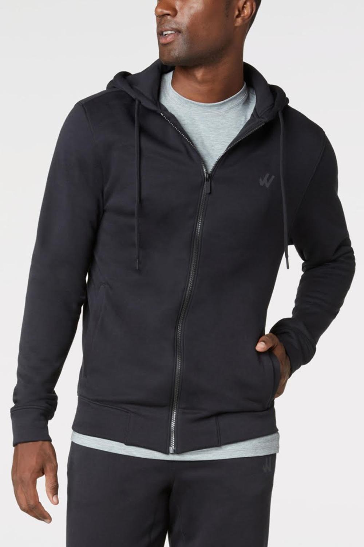 willy california zip up hoodie athleisure