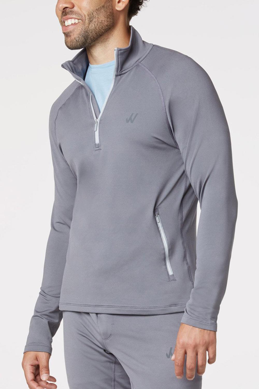 willy california quarter zip pullover athleisure