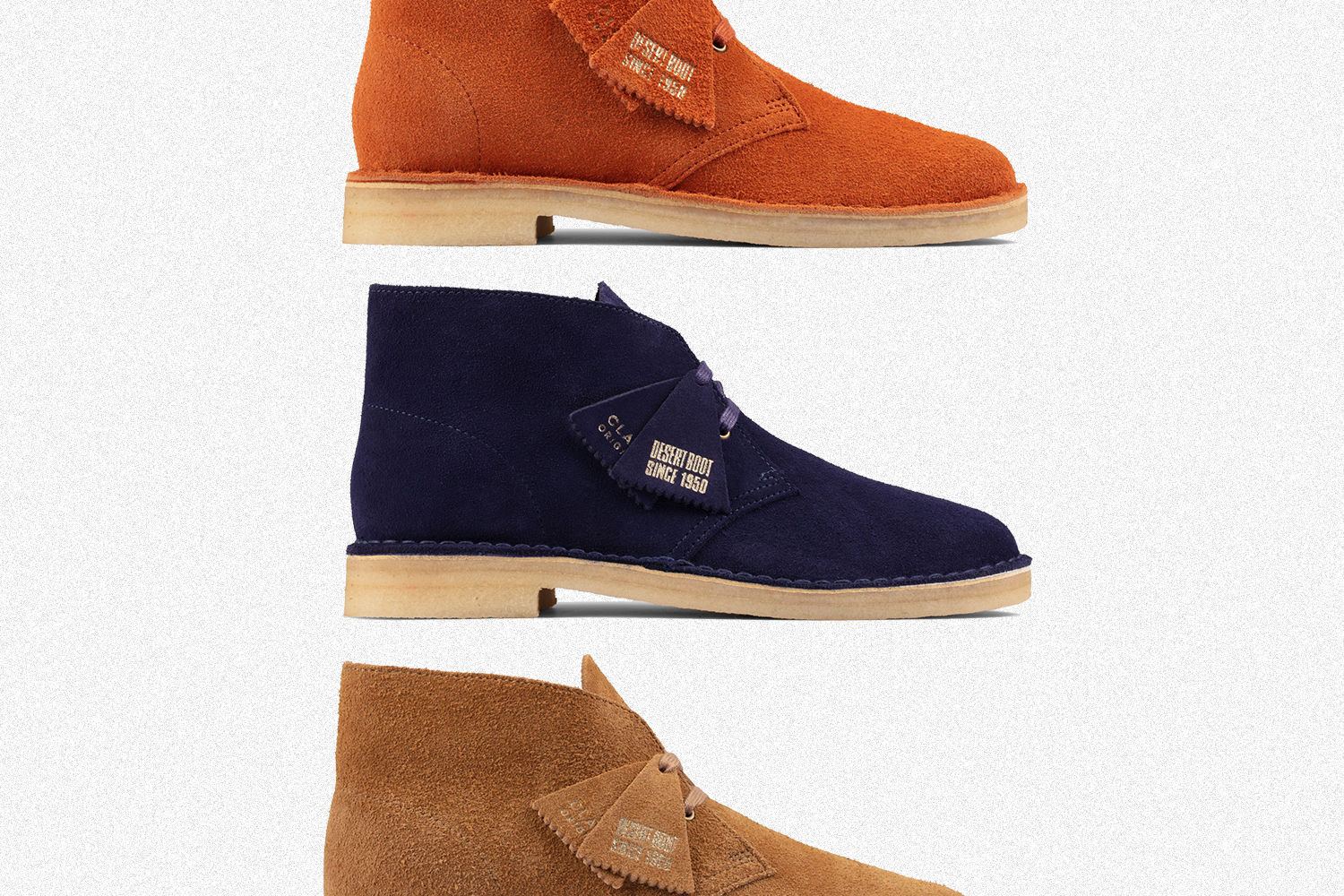 Off Clarks Desert Boots During the Fall