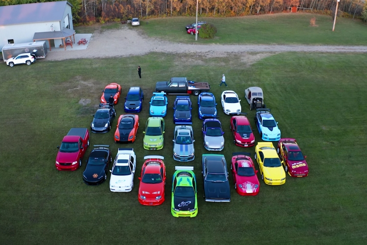 Fast and Furious car collection