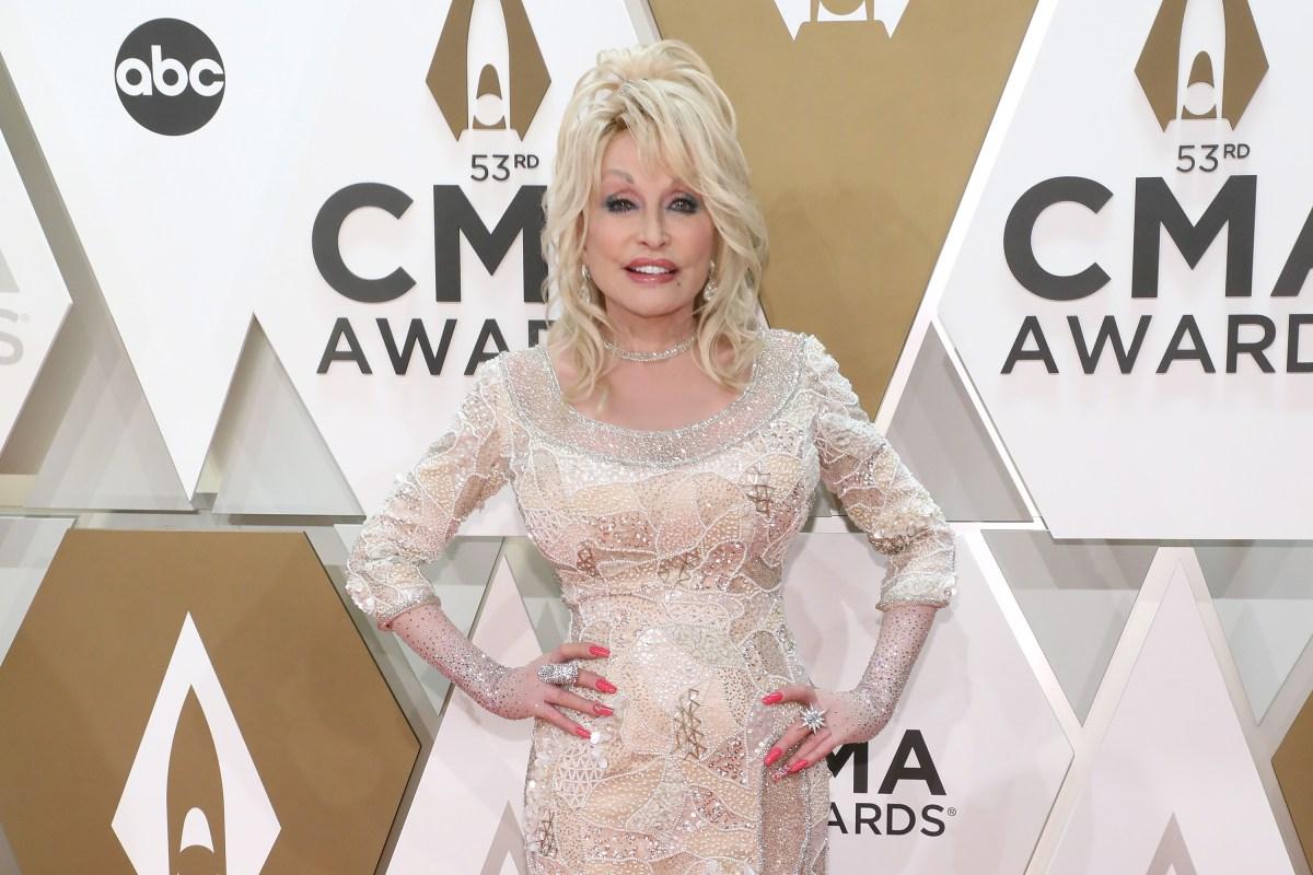 Dolly Parton CMA Awards