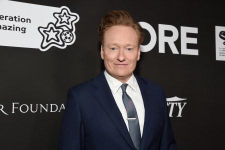 Conan O'Brien suit and tie