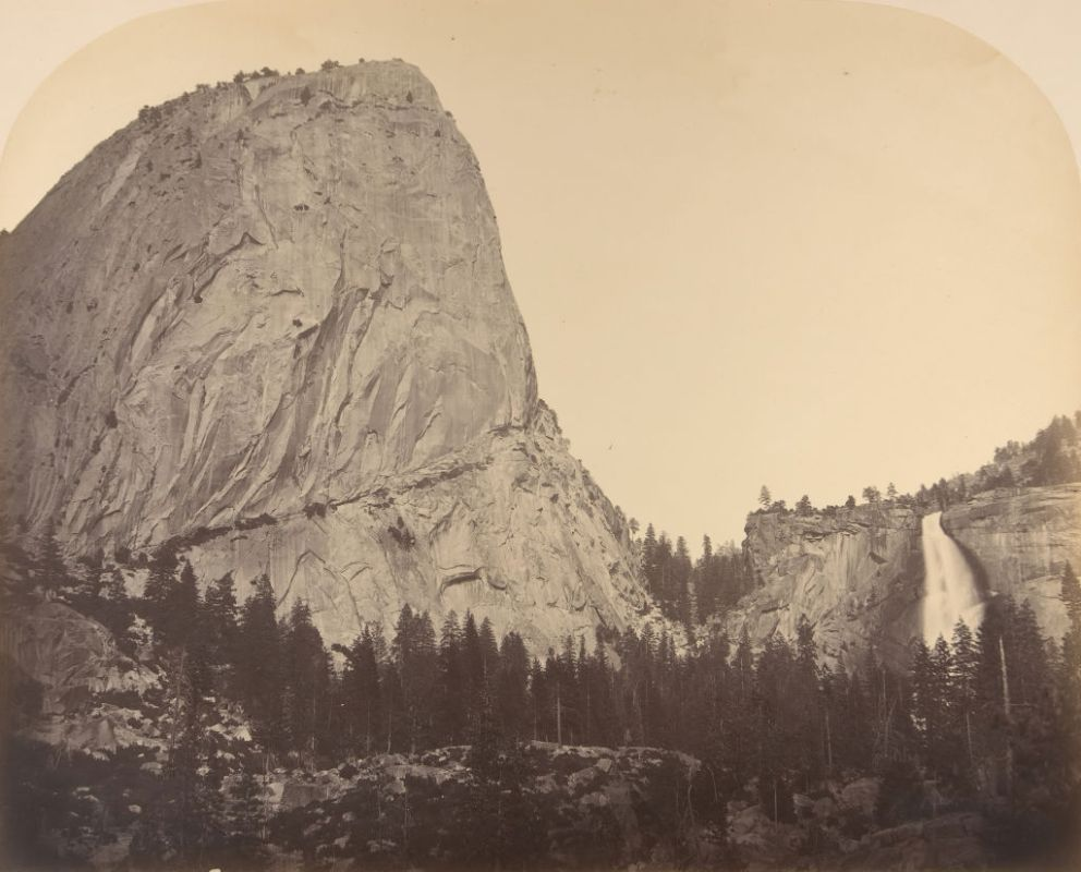 Mt Broderick And Nevada Fall Fall = 700 Ft