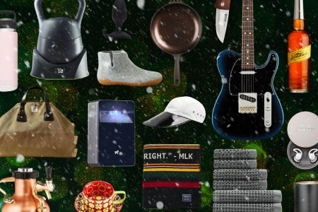all types of items to gift, booze, guitars, booties, knives, technology etc.