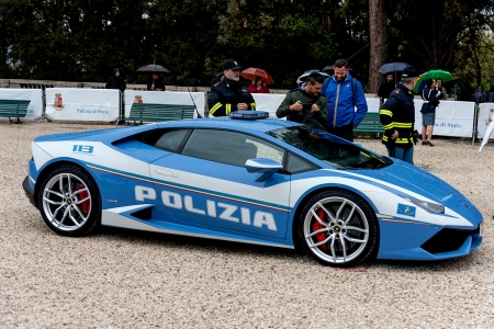 Italian police Lamborghini Huracan