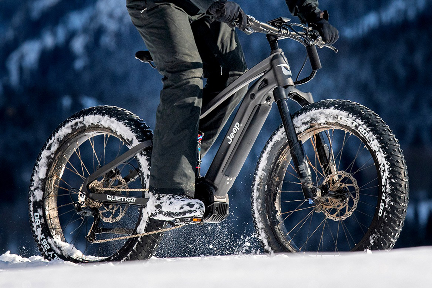 Jeep QuietKat e-Bike