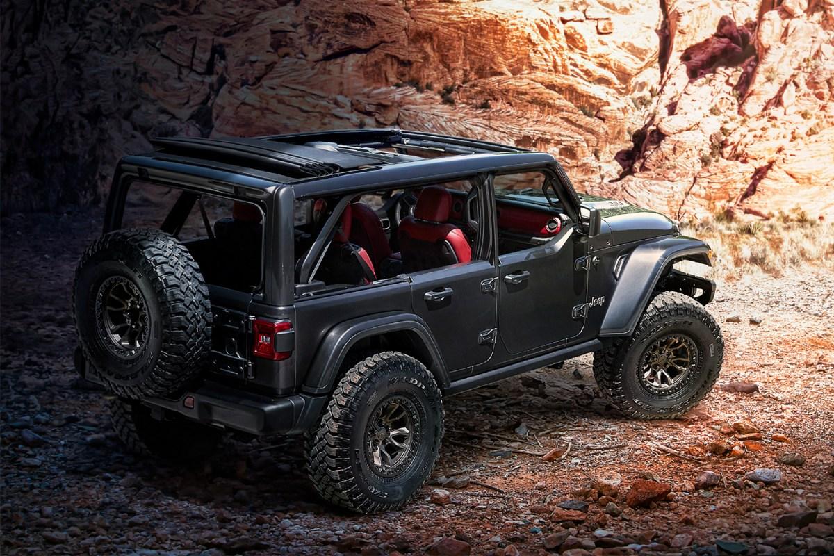 Jeep V8 Wrangler Rubicon 392 Concept