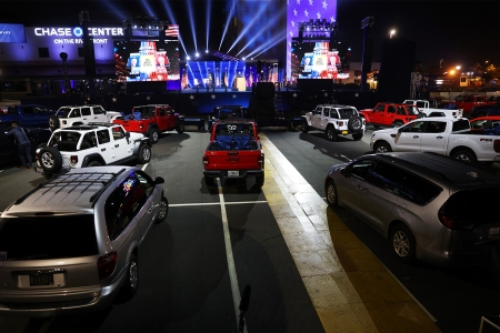 Jeep trucks Joe Biden speech