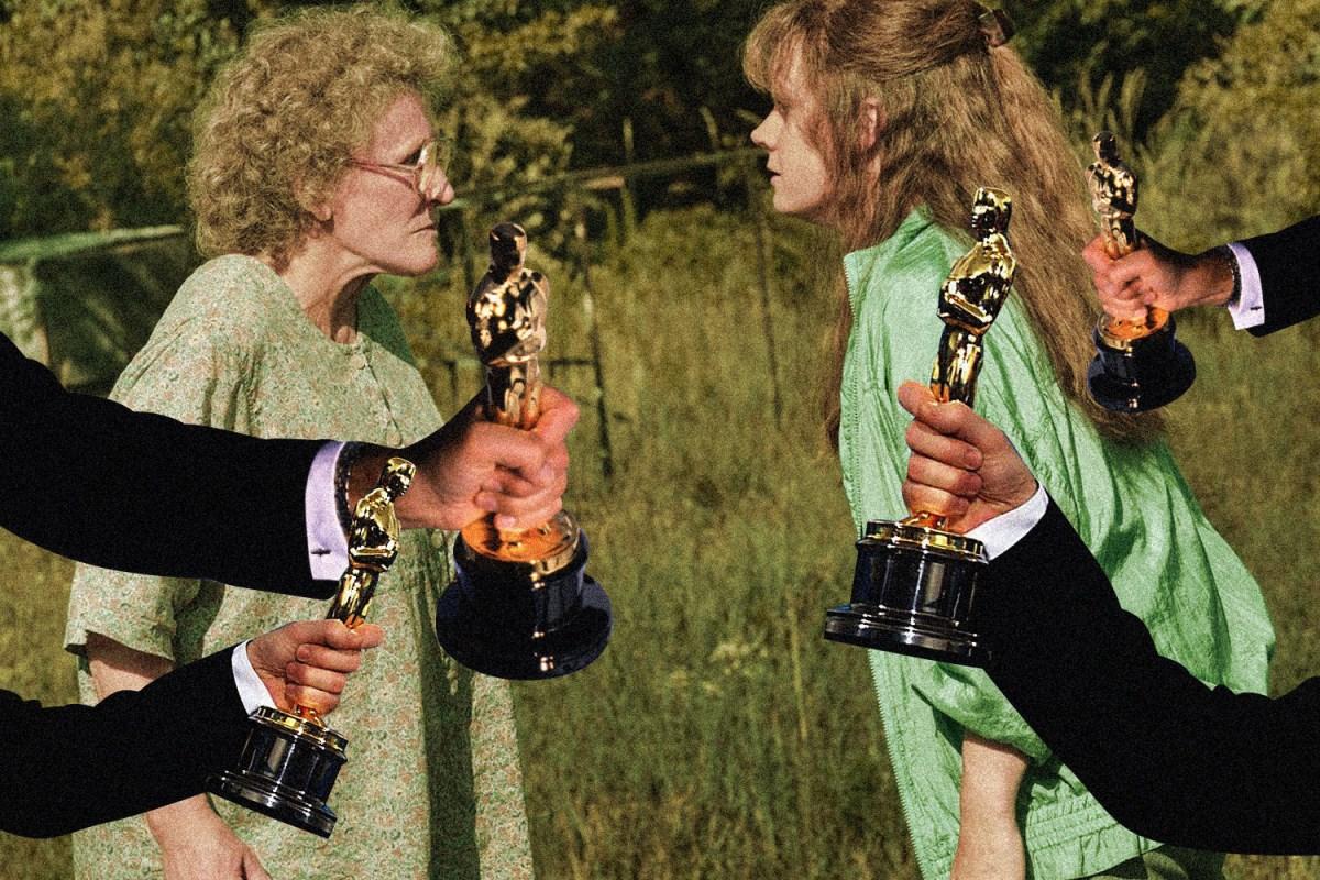 Glenn Close and Amy Adams Hillbilly Elegy Oscars