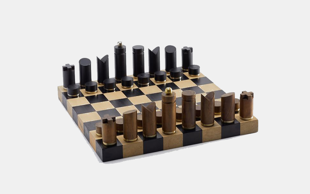 Pottery Barn's Wooden Chess Set