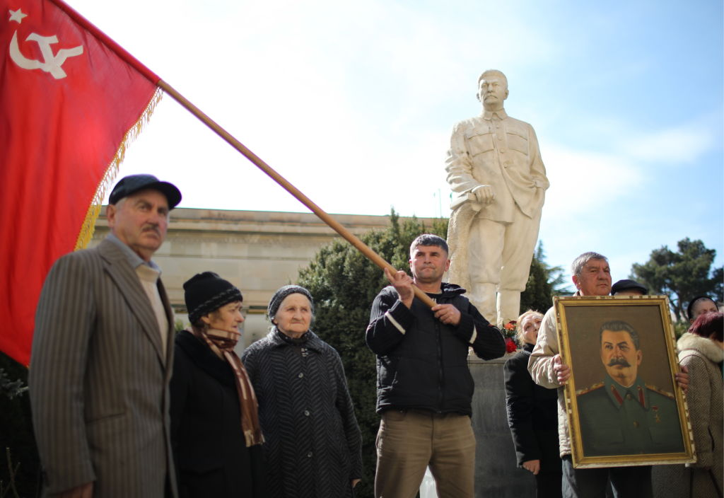 Events mark Stalin's 66th death anniversary in Gori, Georgia
