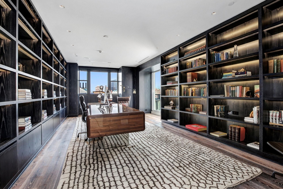 Tom Clancy penthouse office
