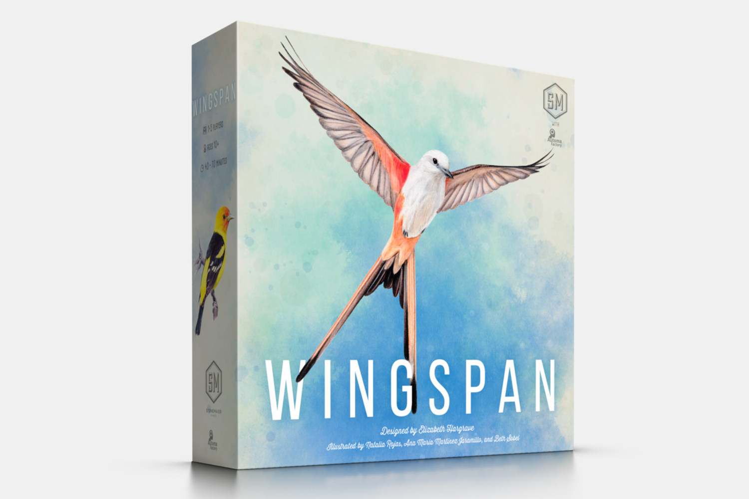 Wingspan bird board game