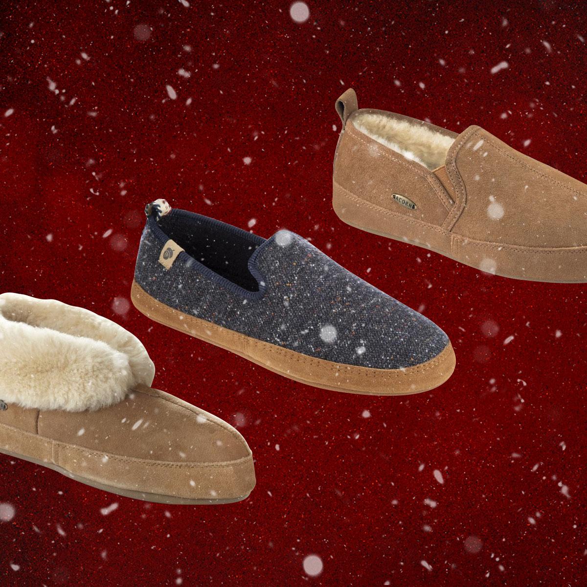 acorn slippers