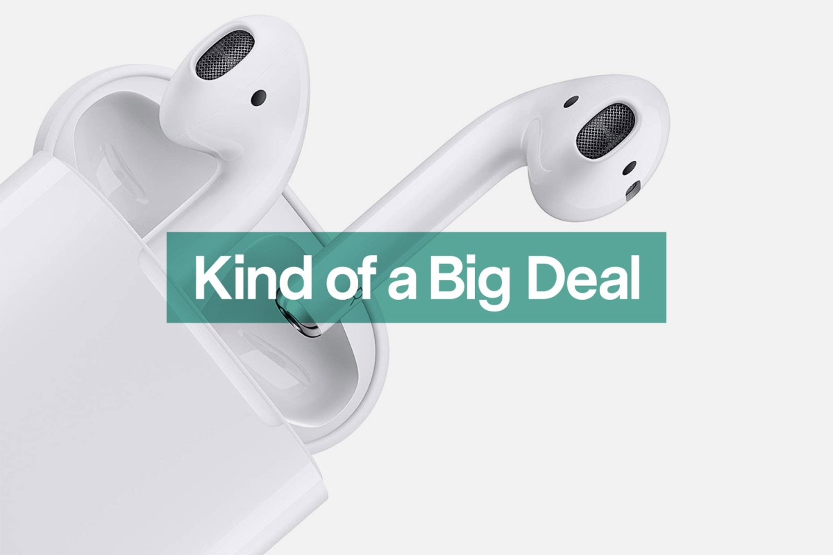Apple AirPods at lowest price ever