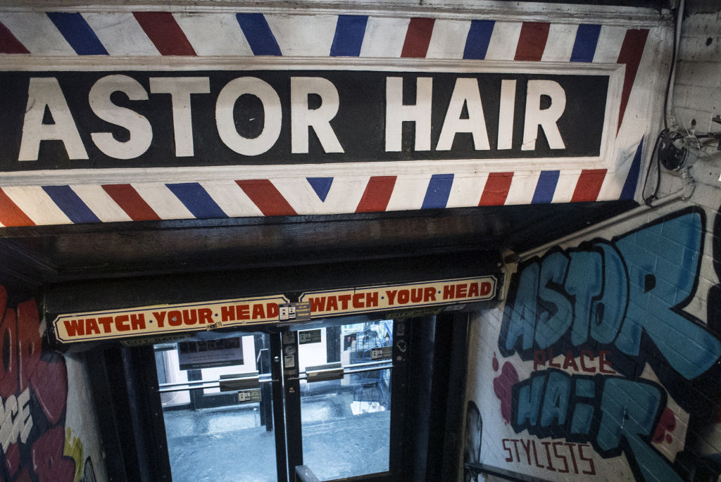 Bill Tompkins Astor Place Hairstylists Archive