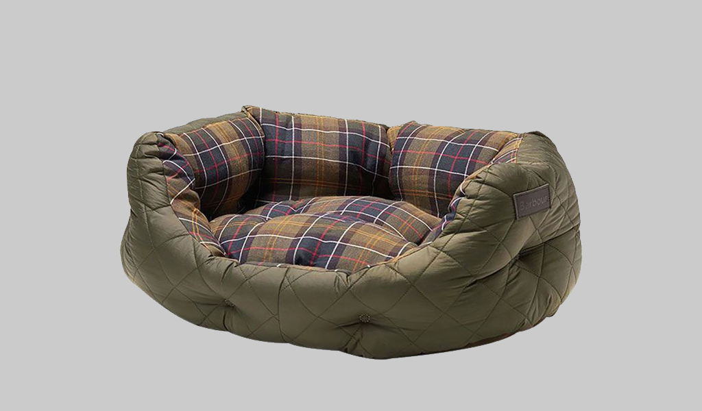 Barbour Dog Bed