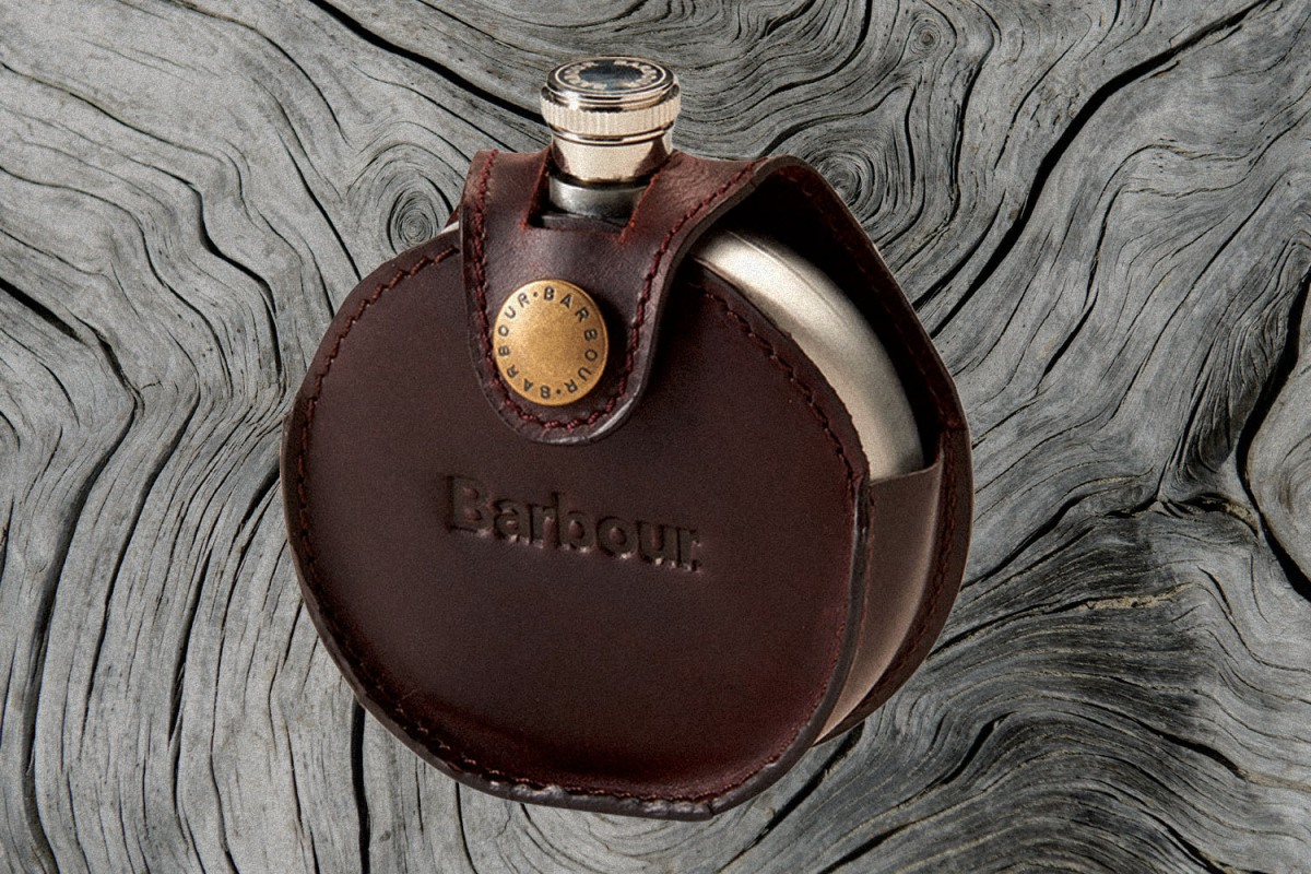 My trusty old Barbour flask